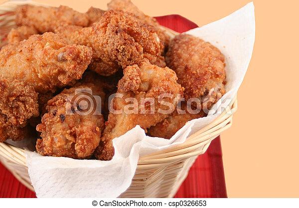 fried chicken - csp0326653