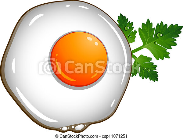 fried egg over white eps 10 ai jpeg clipart vector search rh canstockphoto com