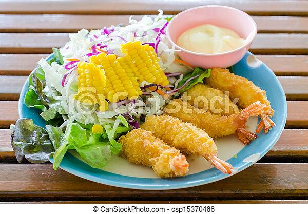 Fried Shrimp - csp15370488