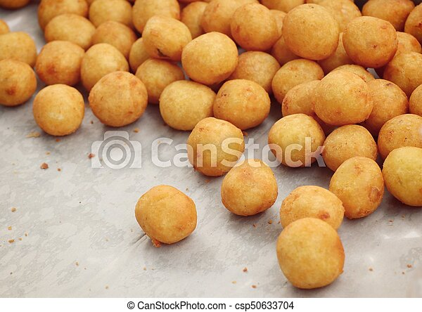 fried sweet potato at street food - csp50633704