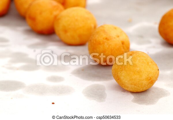fried sweet potato at street food - csp50634533