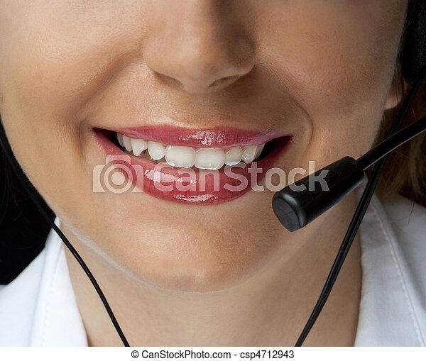 Friendly assistance - csp4712943