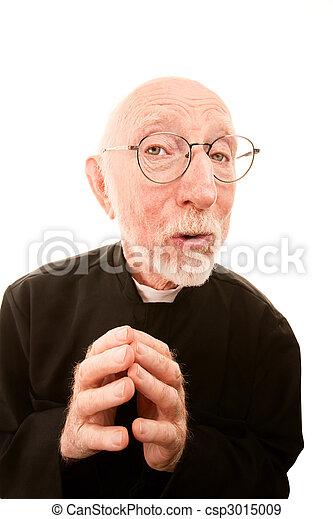 Friendly Clergy - csp3015009