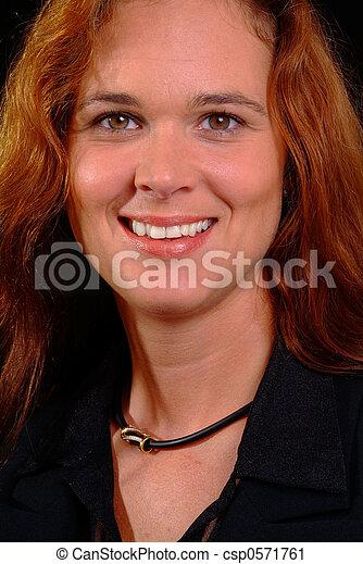 friendly woman - csp0571761