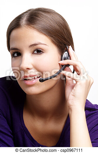 friendly woman - csp0967111