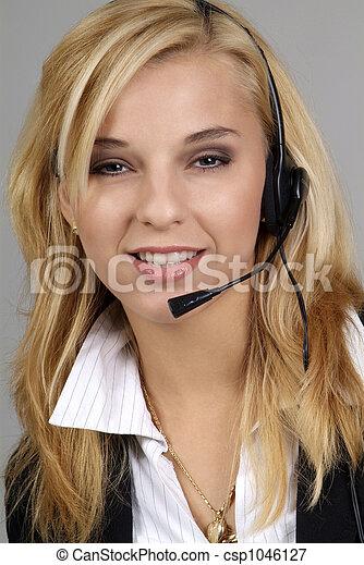 friendly woman - csp1046127