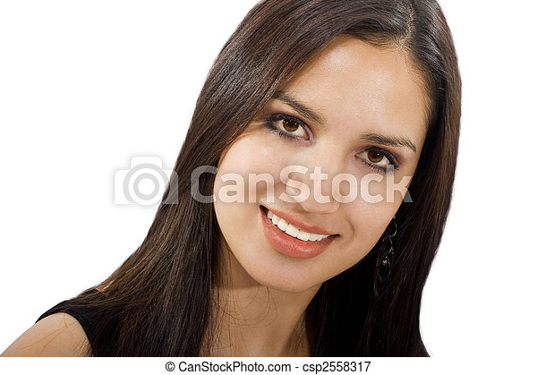 Friendly Woman - csp2558317