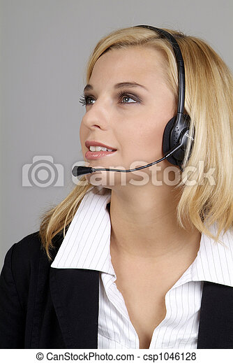 friendly woman - csp1046128