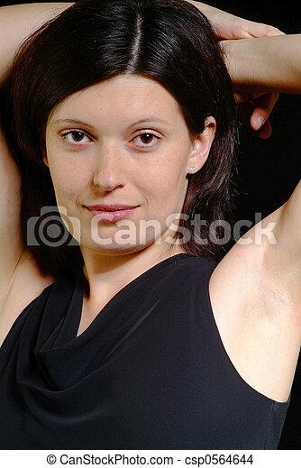 friendly woman - csp0564644