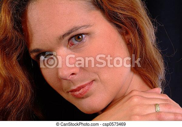 friendly woman - csp0573469