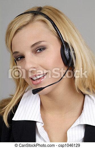 friendly woman - csp1046129