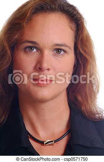 friendly woman - csp0571750