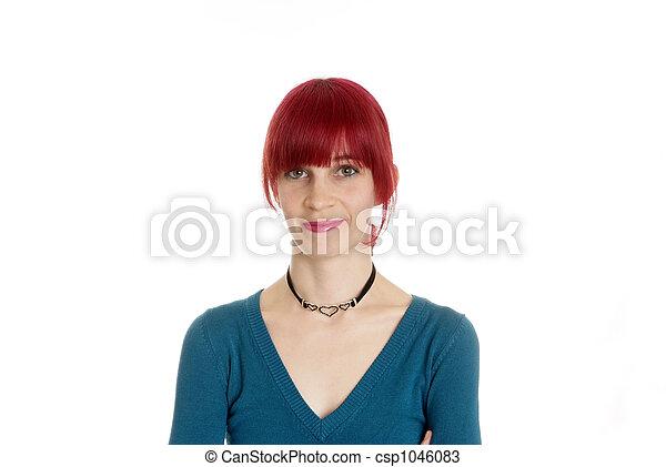 friendly woman - csp1046083