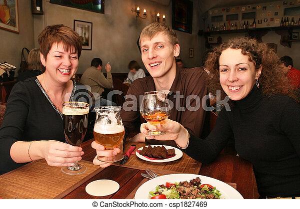 friends in bar - csp1827469
