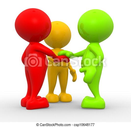 Friends - csp10648177