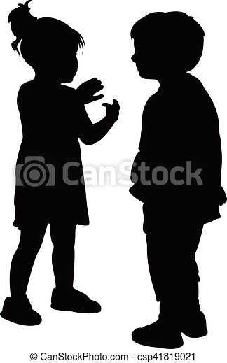 friends talking to each other - csp41819021