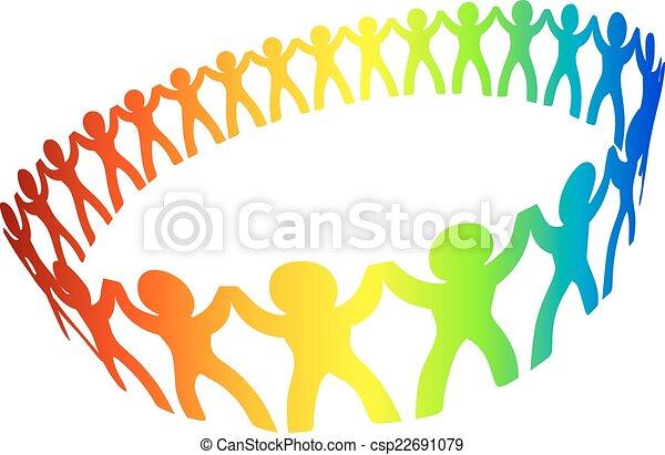 Friendship circle - csp22691079