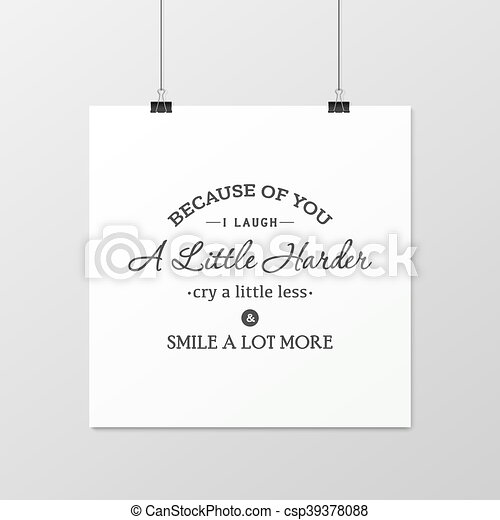 Friendship quote. Typographical Poster. - csp39378088
