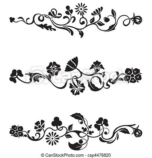 frieze, デザイン, クラシック - csp4476820