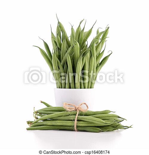 Frijoles verdes - csp16408174