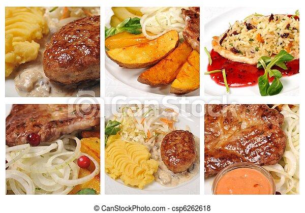 fris, smakelijk, maaltijden - csp6262618