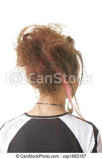 Frisur Punker