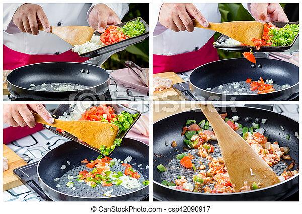 frito, conmoción - csp42090917