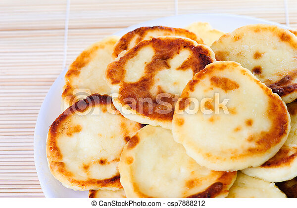 Fritters of cottage cheese - csp7888212
