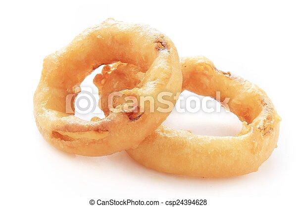 fritto, anelli, cipolla - csp24394628