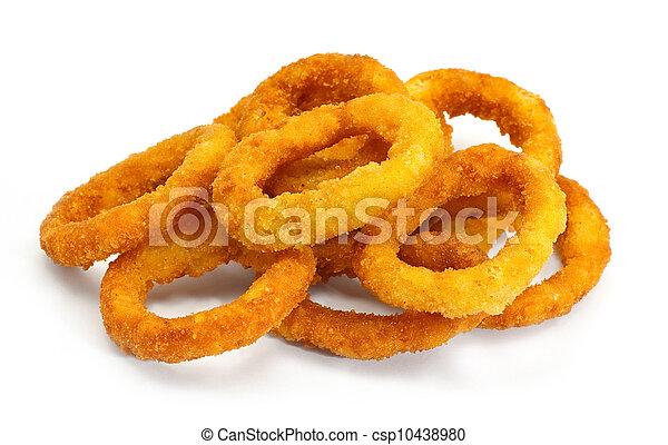 fritto, anelli, profondo, cipolla - csp10438980