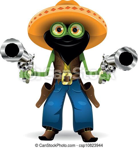 frog criminal - csp10823944