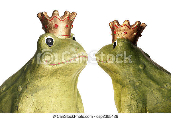 Frog King - csp2385426