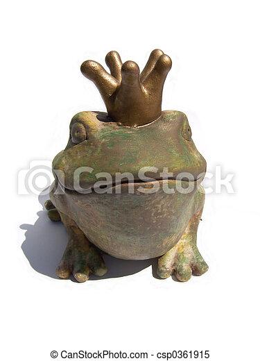 frog king - csp0361915