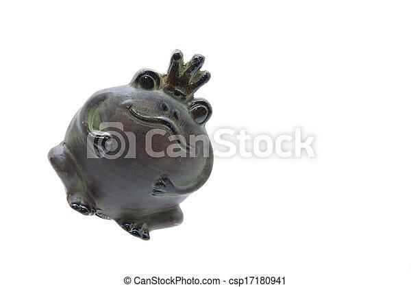 Frog king - csp17180941