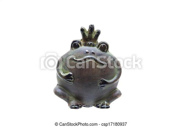 Frog king - csp17180937