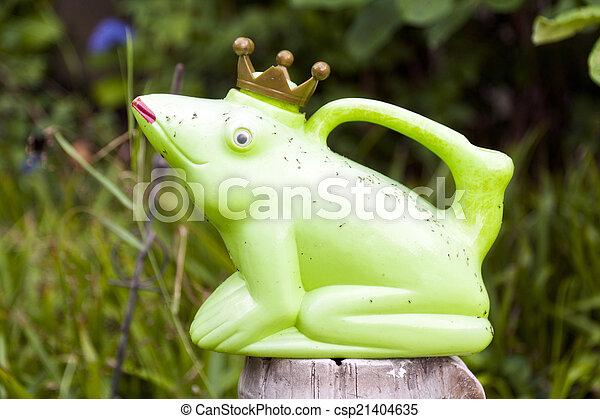 Frog King - csp21404635