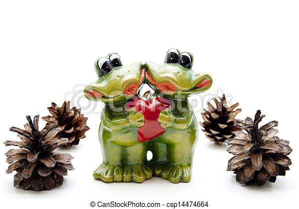 Frog pair - csp14474664