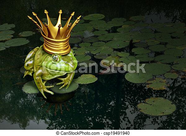 Frog Prince Concept - csp19491940