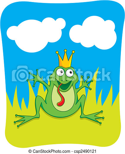 Frog Prince - csp2490121