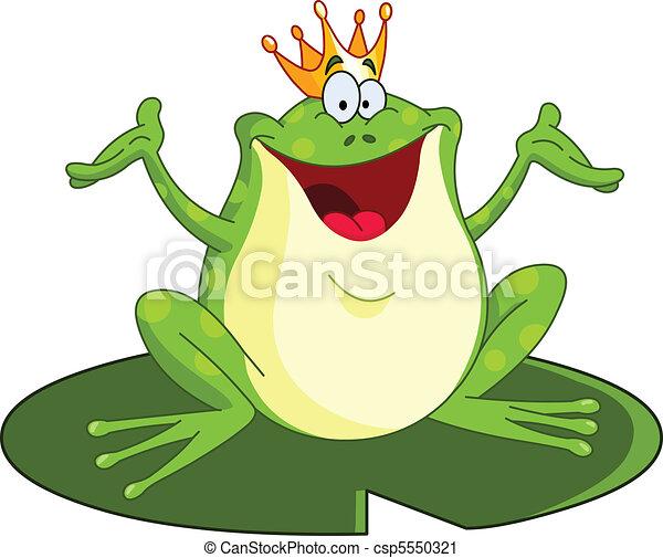 Frog prince - csp5550321