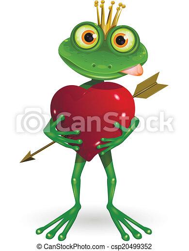 Frog Princess - csp20499352