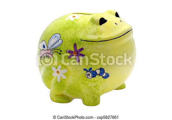 Froggy Bank - csp5627661
