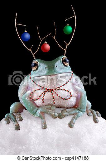 Froggy Reindeer - csp4147188