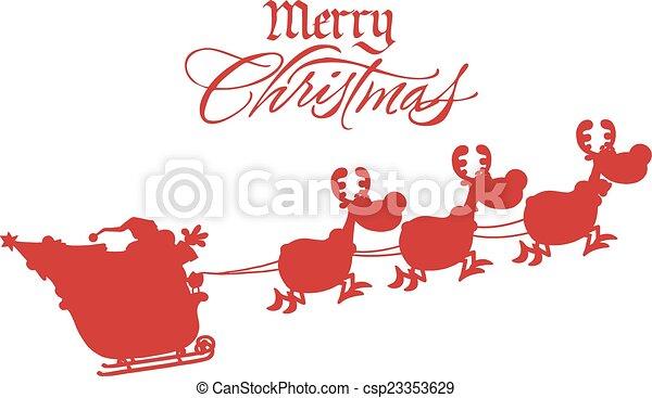 Frohe Weihnachten Flugzeug.Frohe Weihnacht Santa Gruss