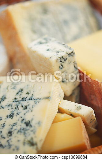 fromage, divers, composition, types - csp10699884