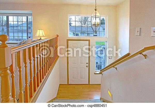 Front Door And Entrance   Csp4880451