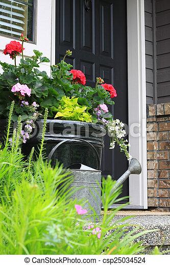 Front door - csp25034524