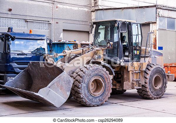 Front end loader - csp26294089