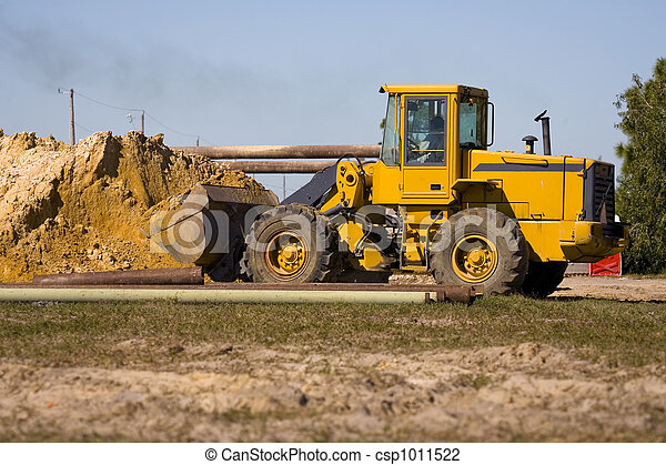 Front end loader working - csp1011522