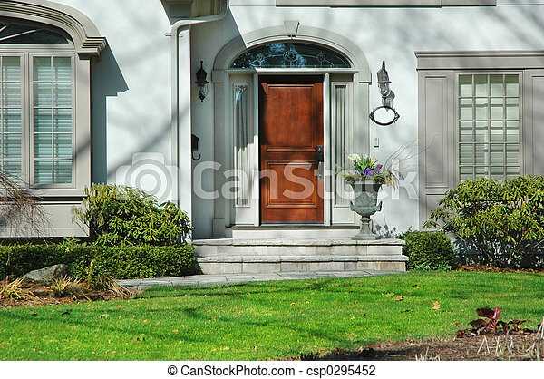 Front Entrance of House - csp0295452